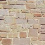 hammerrechtes Schichtenmauerwerk, Höhe: 8-25 cm - Einband: 15-25 cm