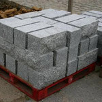 Mauerstein ca. 20/20/40 cm Lager und Stöße gesägt
