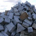 Mauerstein - Anfall wie im Bruch