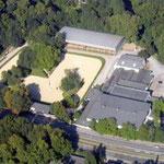 Luftbild der Anlage am Stadtwaldplatz