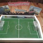 Fußballfan Ruhestand  von Kollegen