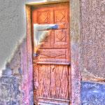 Alte Haustür in Kenzingen