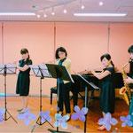 5人合奏 講師演奏で、シシリエンヌの5重奏を演奏致しました。