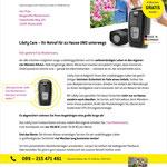 Mailing von Libify Technologies im Auftrag der ANKOMM Werbeagentur