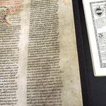 Alte Schriften in der Vorarlberger Landesbibliothek