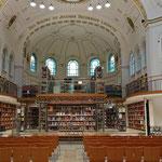 Der Kuppelsaal der Vorarlberger Landesbibliothek