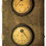 old electric scoreboard