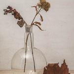 bottle withflower