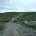 Strassen in lappland