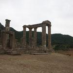 Römischer Tempel im Hinterland
