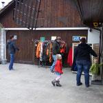 Laden & Bareingang
