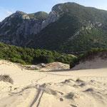 Sanddünen von 200m