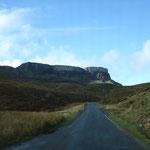 Tolle Einsame Strasse auf der Ilé of Skye