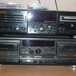 Sharp-Combi-CD-und MD-Recorder, Technik Doppel-Cassetten-Recorder