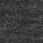 Nadelvlies Wolle+Seide schwarz + natur