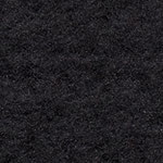 Nadelvlies Wolle+Seide einfbg. schwarz