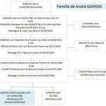 Famille de André GAMOIS Mort pour la France