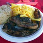 Assiette d'Agneau de Pauillac proposée par Les Eleveurs Girondins.