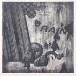 """""""RAIN"""" woodblock intaglio h30cm X w30cm ed.10 2004"""