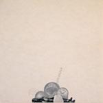 """NIRVANA"" woodblock print h60cm X w60cm ed.10 2002"