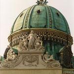 Hofburg - Michaelerkuppel, nach der Restaurierung, © Karl Kratochwill
