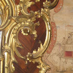 Vergoldeter Schnitzdekor - Detail