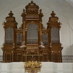 Pfarrkirche Stockerau, Orgel nach Restaurierung, © Karl Kratochwill