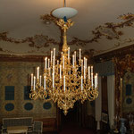 Schloss Schönbrunn - Luster Blauer chinesischer Salon, © Karl Kratochwill