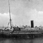 HMS Assaye - troopship built 1899 (from 'Lest We Forget' web site)