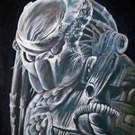 Science-Fiction-Figur für meinen Sohn - Acryl