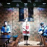 民謡の店「みどり」で、佑典君の伴奏で復習&大会のリベンジ中♪