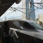 私、新幹線・・・好きです!