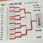 仁太坊賞 激戦のトーナメント結果