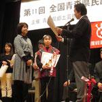 三下がり 第3位の村田美穂子さん