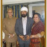 with H.E. Dr. Karan Singh