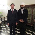 with Prime Minister  H.E. Abhisit Vejjajiva
