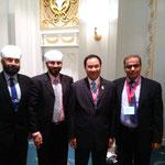 with H.E. Kalin Sarasin, President Board of Trade of Thailand
