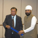 with CM Nagaland