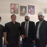 with H.E. Chutintorn Sam Congsakdi, Thai Ambassador to India