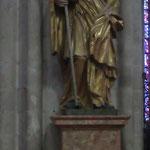 Statue d'évêque du XVIIe siècle