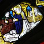 Vitrail chapelle Saint Jean-Baptiste