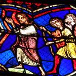 St Jacques est poursuivi par le peuple qu' Abiathar a soulevé contre lui (refait en 1848)