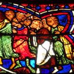 St Jacques est poursuivi par le peuple qu' Abiathar a soulevé contre lui
