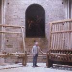 """Présentation des symandres par Bernard Brossard, Président des """"Amis de la Cathédrale de Bourges"""""""