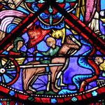 Malgré l'opposition des démons, le saint pousuit son voyage et accomplit des miracles