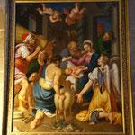 Tableau de Jean Boucher (Chapelle fonts baptismaux)