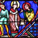 Le pape St Sixte lui confie les trésors de l'Église