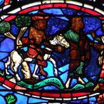 Un Samaritain le hisse sur son cheval et le confie à un aubergiste pour qu'il le soigne