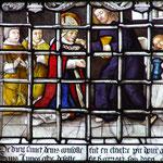 Remis en prison avec ses disciples Rustique et Éleuthère, le Christ leur apporte la communion