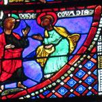Qittant Rome, Pierre rencontre le Christ
